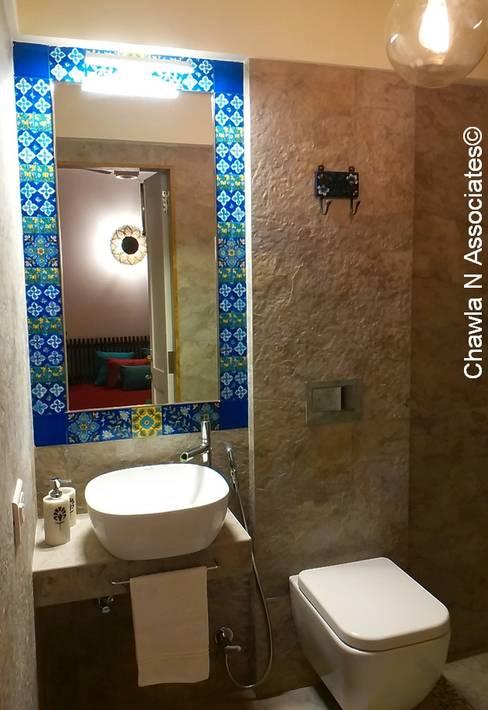 Bathroom by Chawla N Associates