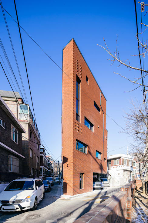 온기: AAPA건축사사무소의  다가구 주택