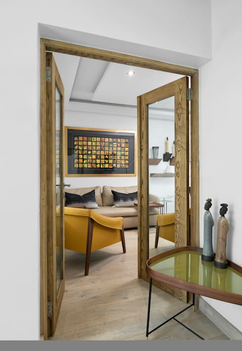 African Study aka Home Office:   by Deborah Garth Interior Design