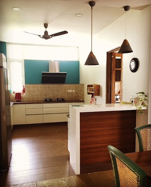 Kitchen units by Crafted Spaces