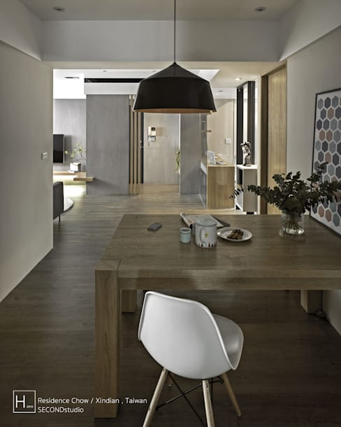 Dining room by SECONDstudio