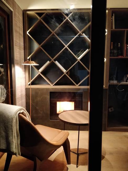 Casa Foa 2018 Home Office : Estudios y biblioteca de estilo  por Kaa Interior   Arquitectura de Interior   Santiago