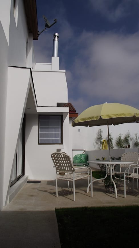 DISEÑO VIVIENDA MAC 220: Casas de estilo  por Territorio Arquitectura y Construccion - La Serena
