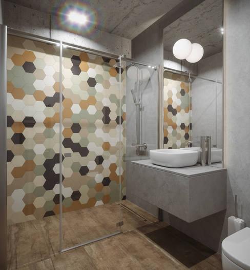 LIGHTHOUSE: Ванные комнаты в . Автор – ANARCHY DESIGN