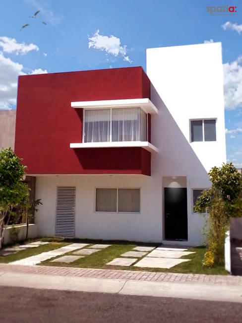 Casas de estilo  por SPAZIA