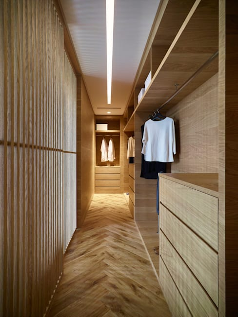 Dressing room by 形構設計 Morpho-Design