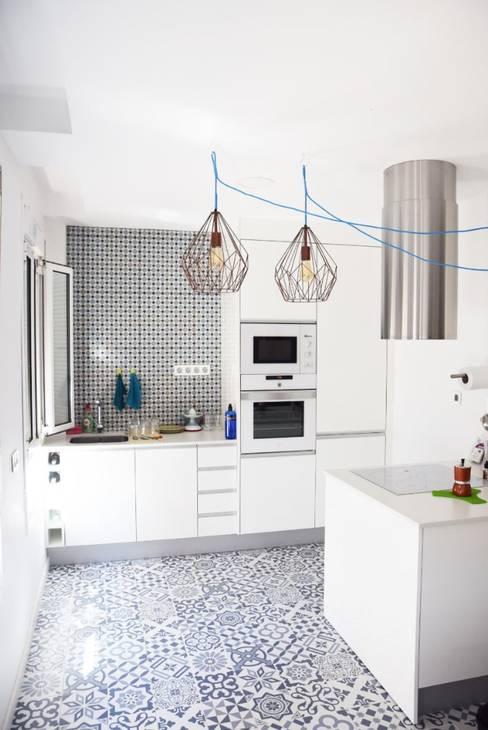 مطبخ ذو قطع مدمجة تنفيذ SP_Arquitectura