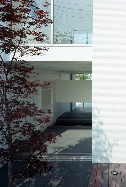 حديقة تنفيذ 松岡淳建築設計事務所