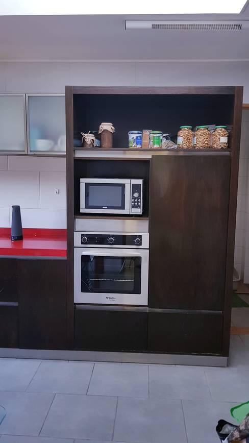 artefactos: Cocina de estilo  por SIMPLEMENTE AMBIENTE mobiliarios hogar y oficinas santiago