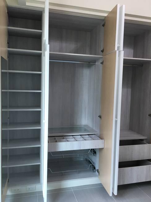 臥室-衣櫥-1:  小臥室 by houseda