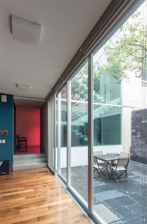 TaAG Arquitectura의  테라스 주택
