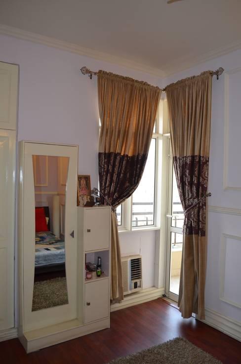 Neun Designs Pvt.Ltd.:  tarz Küçük Yatak Odası