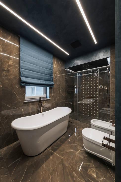 Baños de estilo  por ANARCHY DESIGN