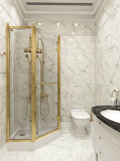 Banheiros  por Дизайн интерьера Киев|tishchenko.com.ua