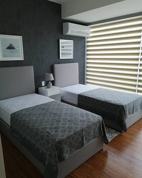 Diseño e Implementación de Mobiliario :  de estilo  por Alicia Ibáñez Interior Design