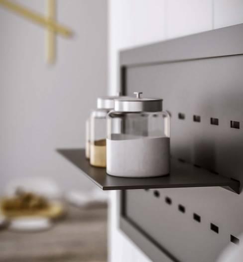 Mensola da cucina Back: Cucina in stile  di Damiano Latini srl
