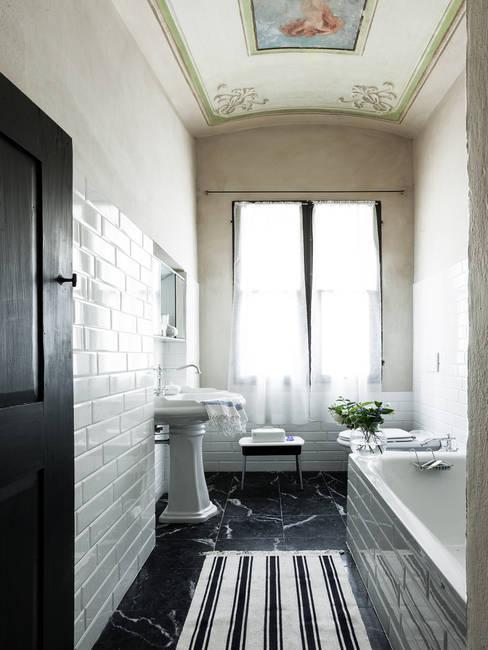 Projekty,  Łazienka zaprojektowane przez elena romani PHOTOGRAPHY