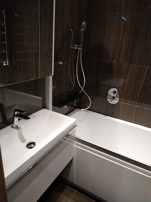Phòng tắm by ИП Жамойтины Светлана и Роланд