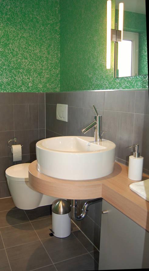 Gäste-WC: moderne Badezimmer von Einrichtungsideen