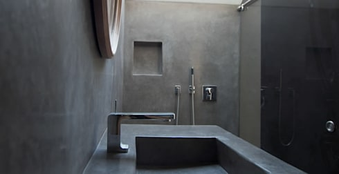 Badezimmer Betonoptik badezimmer feuchträume in betonoptik fugenlose mineralische