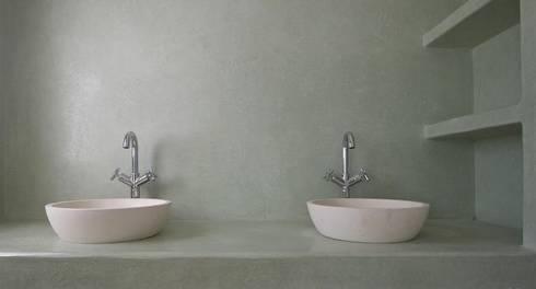 badezimmer - feuchträume in betonoptik von fugenlose mineralische ... - Böden Für Badezimmer