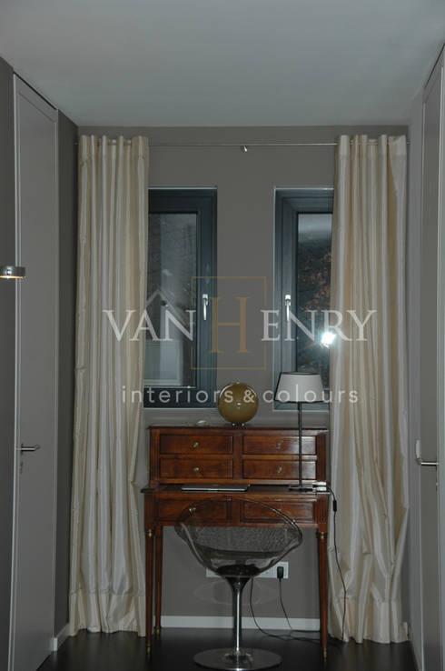 Penthouse:  Flur & Diele von vanHenry interiors & colours