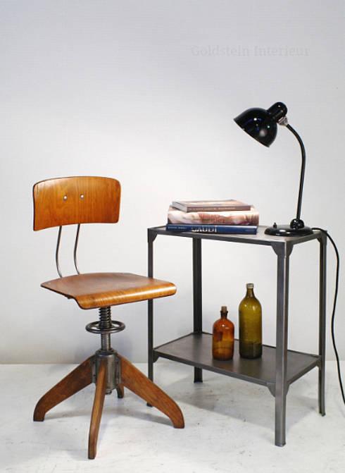 Sala da pranzo in stile in stile Industriale di Goldstein & Co.