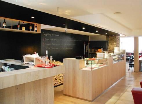 Gastronomie von peter rohde innenarchitektur homify for Gastronomie innenarchitektur