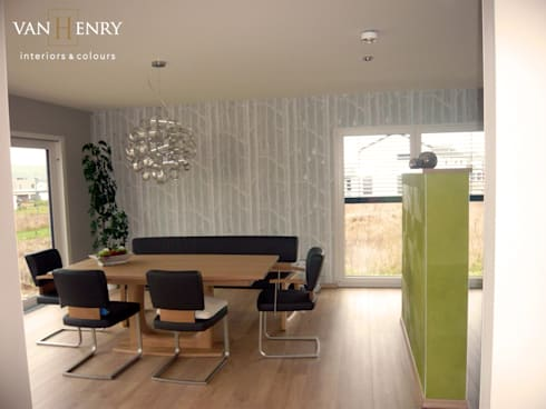 Einfamilienhaus, Küche Und Essbereich
