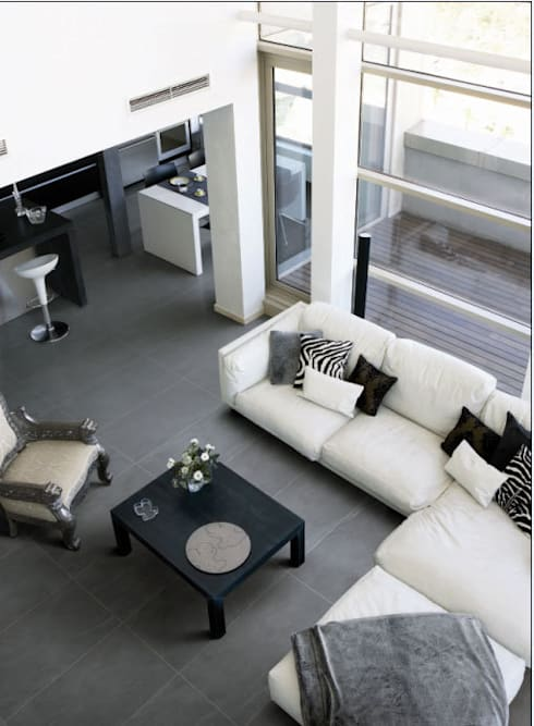 Loft: moderne Wohnzimmer von RAUMAX GmbH