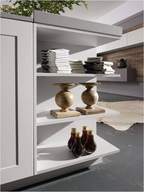 Küchenfronten weiß rustikale küche von alno ag