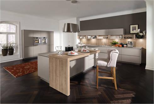 Küchenfronten grau