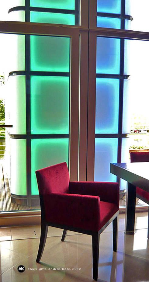 Lichtdesign:  Terrasse von Andras Koos Architectural Interior Design