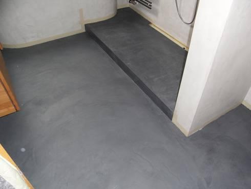 Bäder,Küchen und Böden in Beton Ciré von welschwalls.com | homify