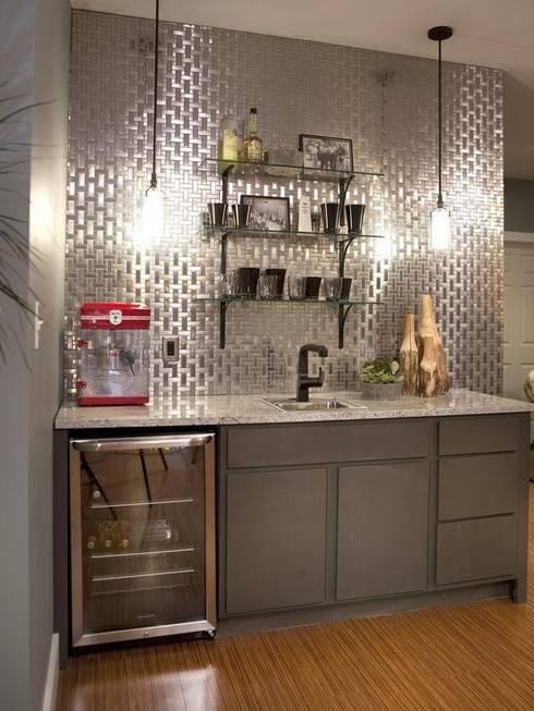 Cozinhas  por Debra Carroll Interiors