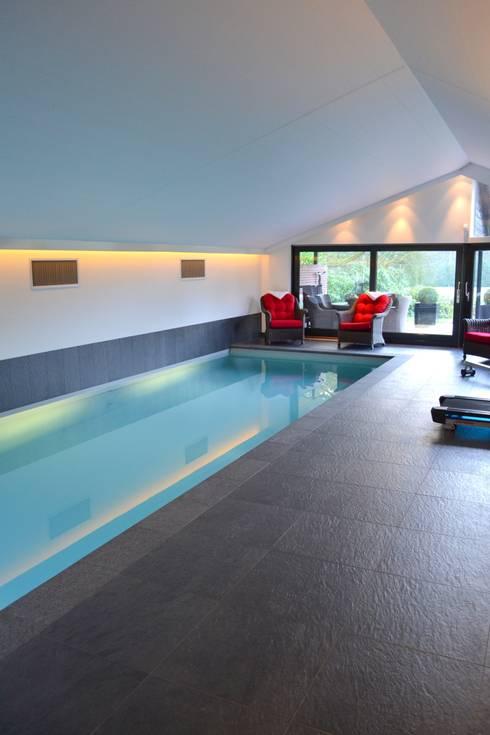 Zwembad door RON Stappenbelt, Interiordesign