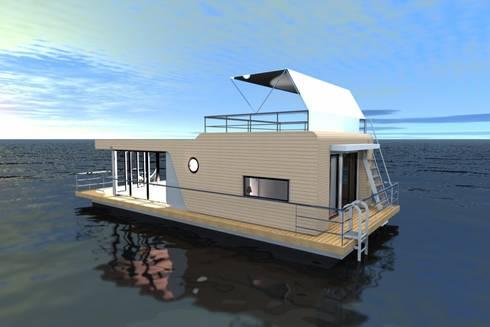 hausboot von die homify. Black Bedroom Furniture Sets. Home Design Ideas
