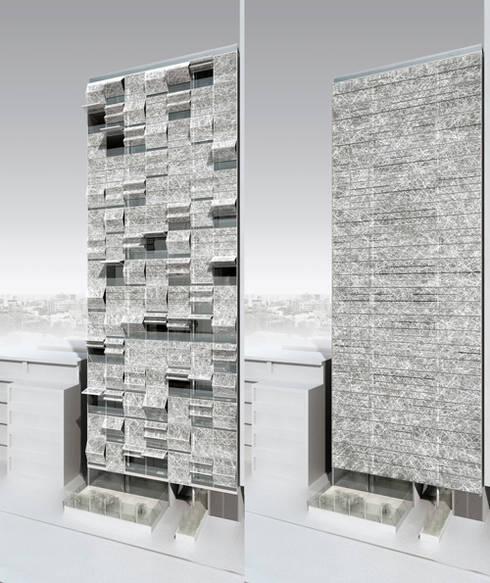 Golf's Tower:  Häuser von Hackenbroich Architekten