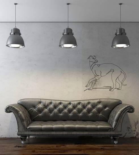Murs & Sols de style  par Design. Nachhaltig. Gut.