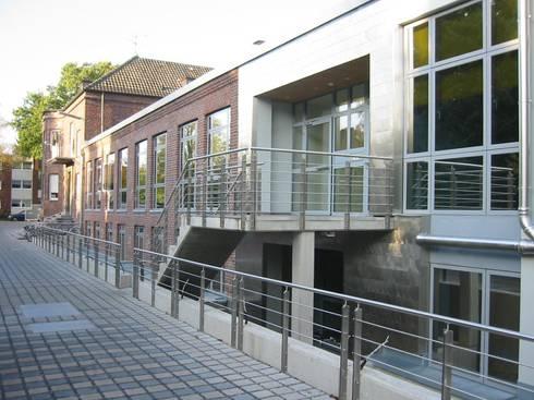 Architekt Mönchengladbach umbau textilfabrik in mönchengladbach zu einem bürogebäude klaus