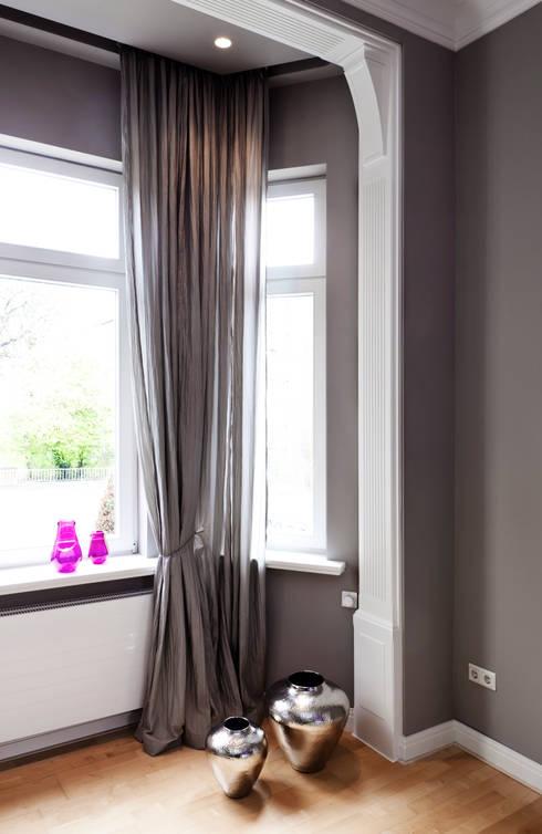 Altbauwohnung Bremen:  Fenster von schulz.rooms