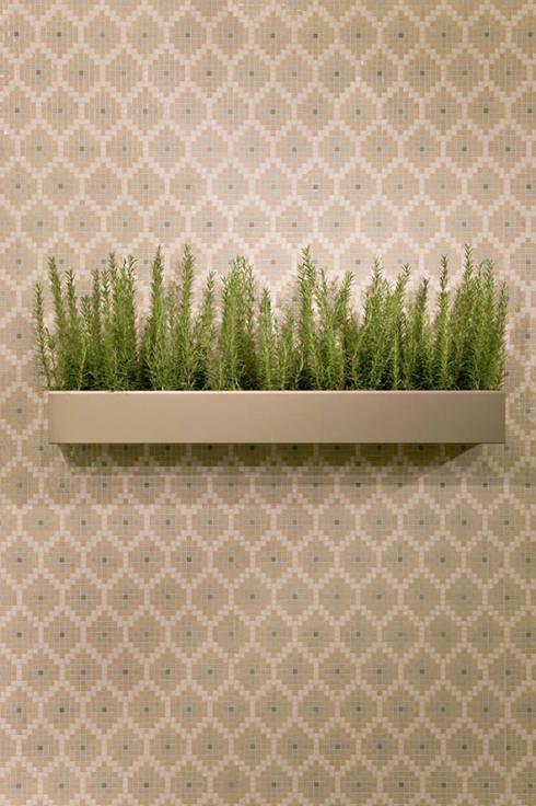 Recyceltes-Glas Mosaik:  Wände & Boden von trend group