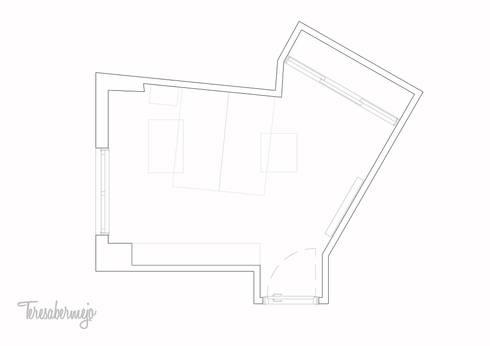 Oficina en casa: Estudios y despachos de estilo escandinavo de  Diseñadora de Interiores, Decoradora y Home Stager