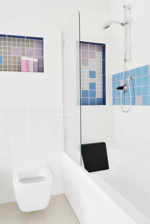 Projekty,  Łazienka zaprojektowane przez CAFElab studio