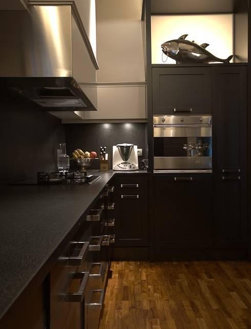 ETNA STUDIO PISO Muntaner/Diagonal: Cocinas de estilo  de ETNA STUDIO