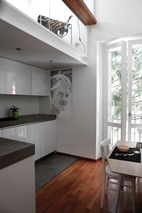 Projekty,  Kuchnia zaprojektowane przez écru architetti