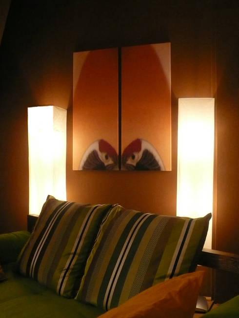 bilder mit kranich einem asiatischen glckssymbol asiatische wohnzimmer von innenarchitektin claudia haubrock - Asiatisches Wohnzimmer