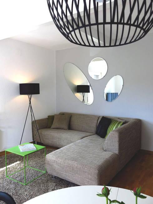 Salones de estilo moderno de Holzer & Friedrich GbR