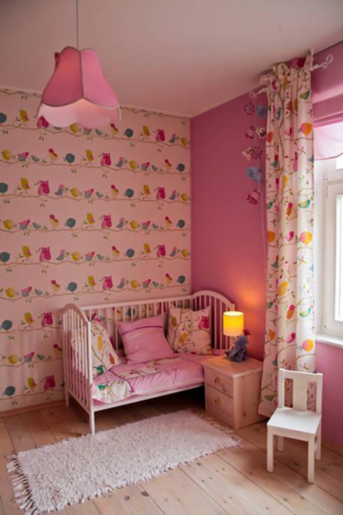 Kinderzimmer für Mädchen:  Kinderzimmer von ks-raumgestaltung