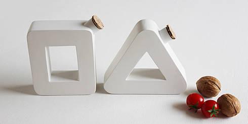 Dan, Olio e Aceto: Cucina in stile in stile Eclettico di Mehdi Pour design studio